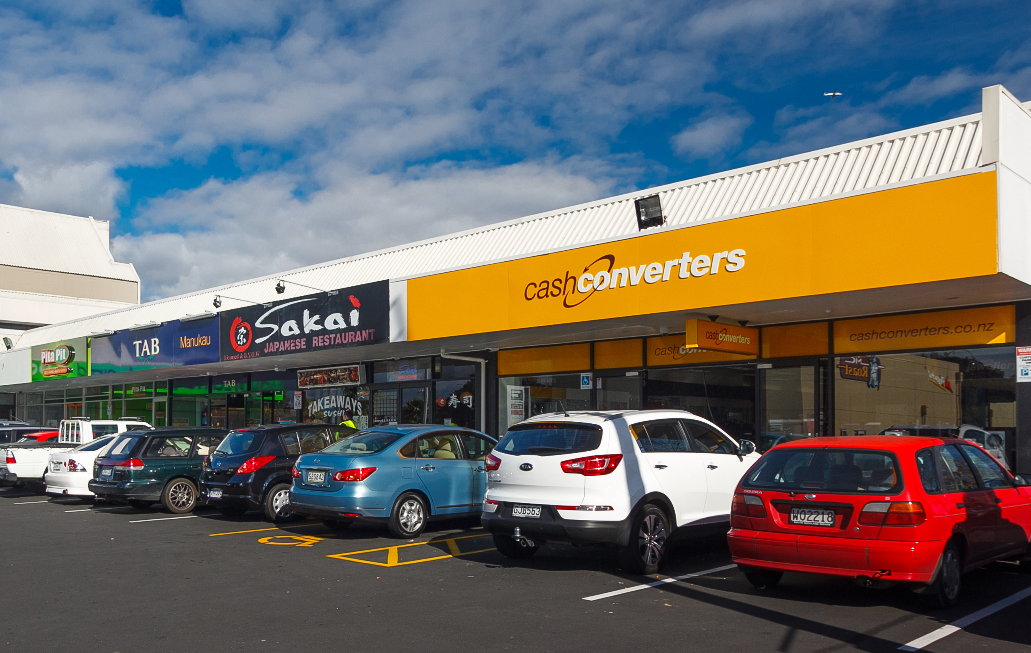 Cash Converters stores have ample parking for a convenient shopping experience
