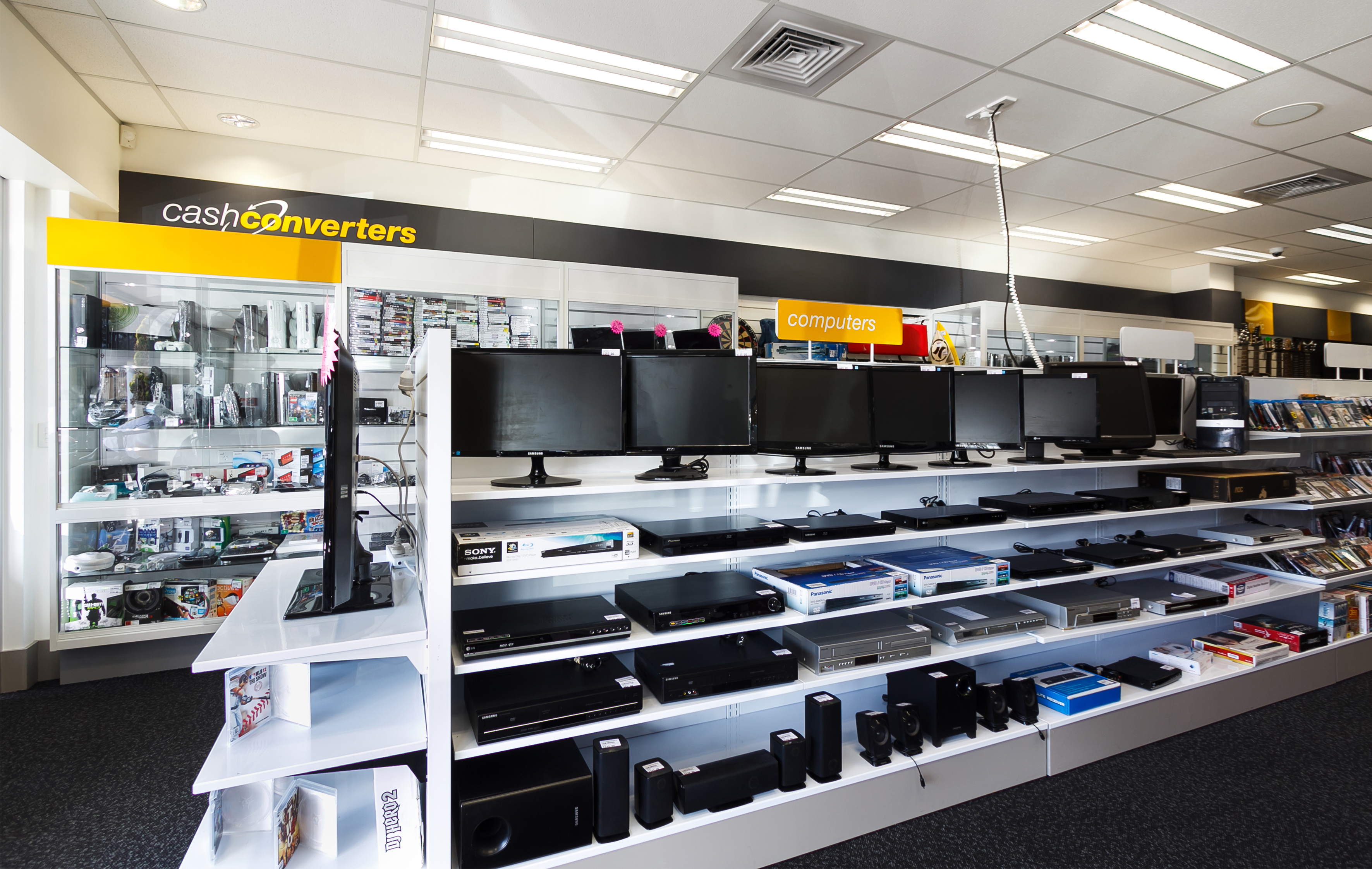 Cash Converters Retail – Quality second hand stock displayed professionally